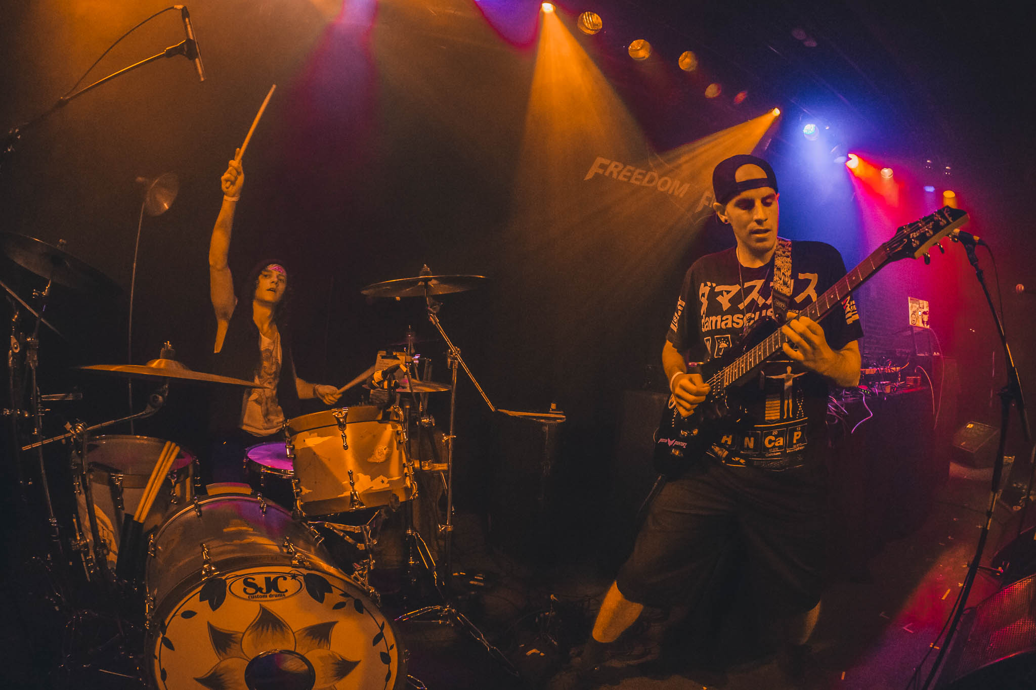 Freedom Fighterz Live, UPBEATDRUMMER, EXIT FIVE, THE SOCIAL, ORLANDO, FL, HYBRID ROCK, ELECTRONIC MUSIC